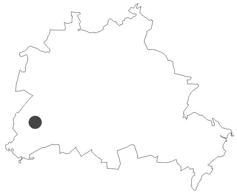 Berlinkarte Große Steinlanke