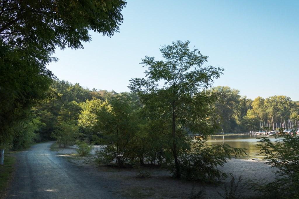 Spazierweg an der Großen Steinlanke