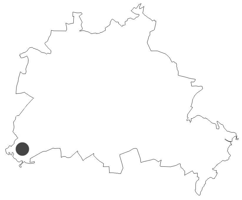Berlinkarte von Nikolskoe
