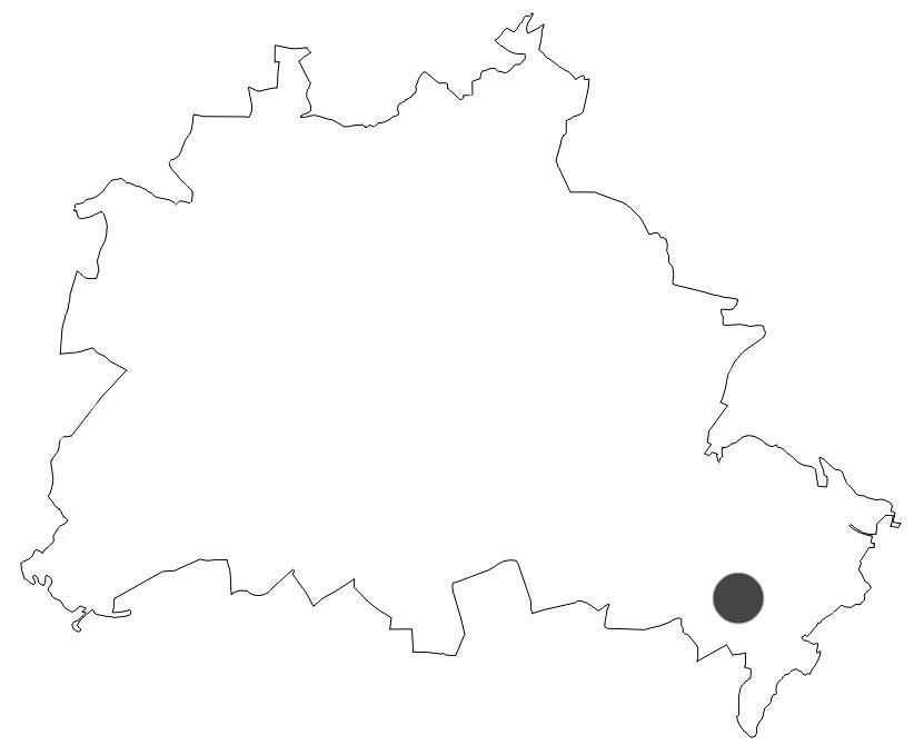 Stadtkarte Berlin Teufelsseemoor Köpenick