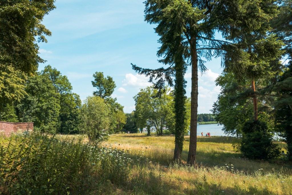 Landhausgarten Dr. Max Fraenkel - Blick auf die Havel