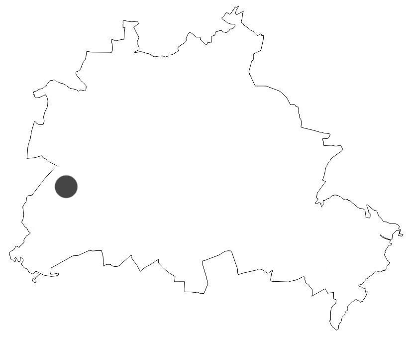 Stadtkarte Rieselfelder Karolinenhöhe