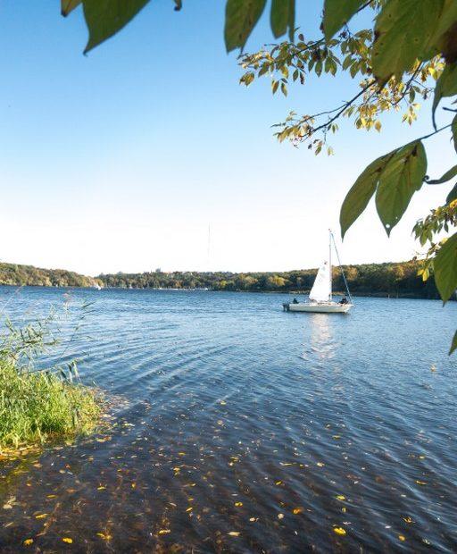 Schildhorn - Blick auf die Havel