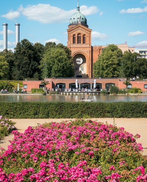 Der Rosengarten am Engelbecken