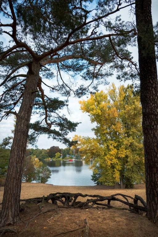 Ein Herbsttag am Kleinen Müggelsee
