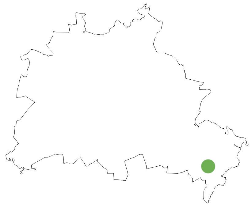 Rahnsdorf Berlinkarte