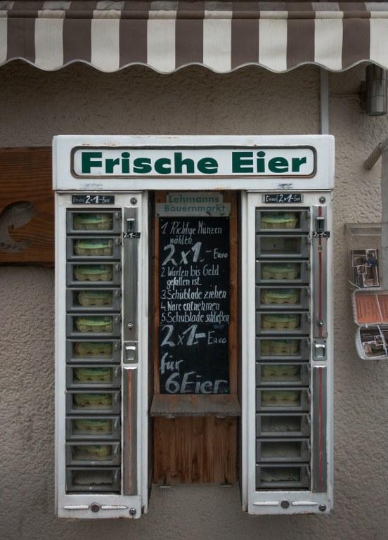 Eier Automat Lehmanns Bauernmarkt