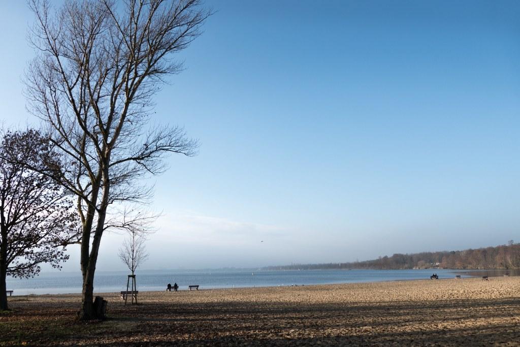 Strandbad Müggelsee - Winter-Idylle
