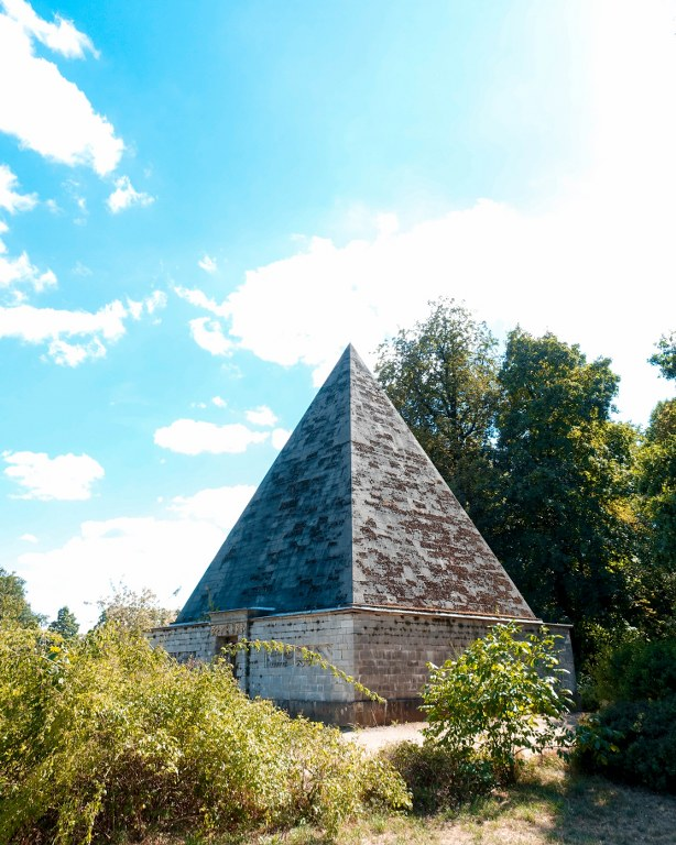 Pyramide im Neuen Garten in Potsdam