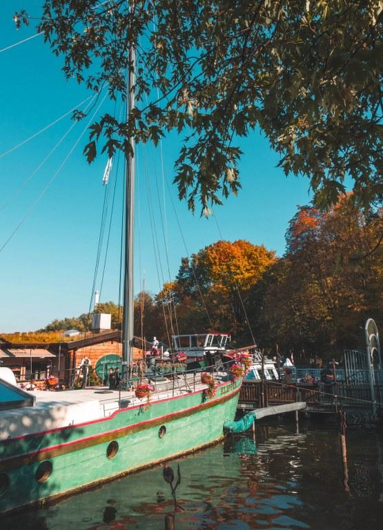 Schiffsrestaurant Klipper im Treptower Park