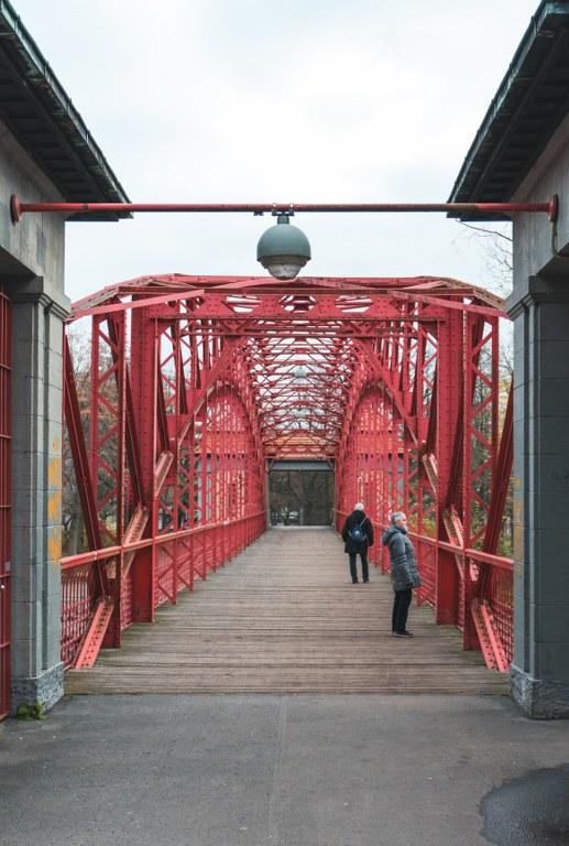 Sechserbrücke am Tegeler See
