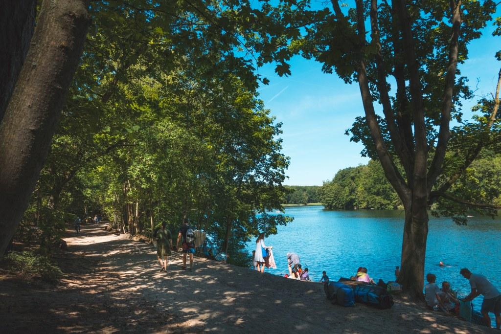 Badestelle-Krumme-Lanke-im-Sommer