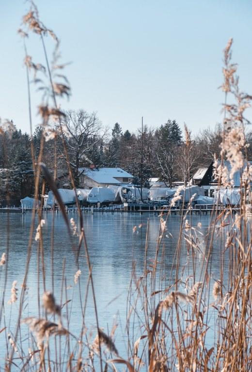 Scharfe Lanke im Winter