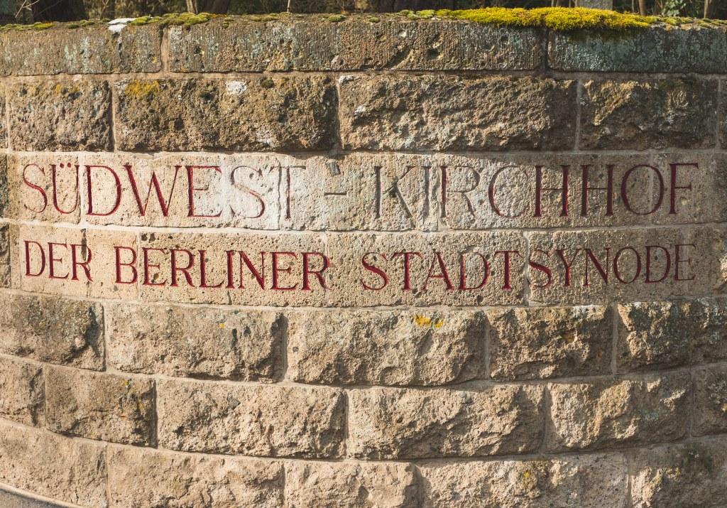 Südwestkirchhof Stahnsdorf Eingang