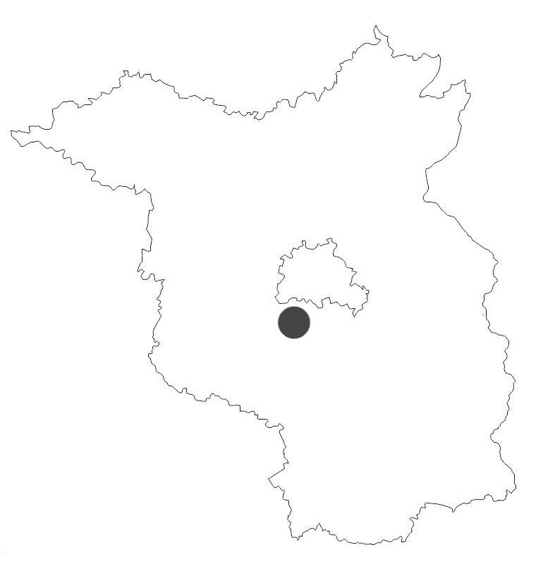 Südwestkirchhof Stahnsdorf - Stadtkarte