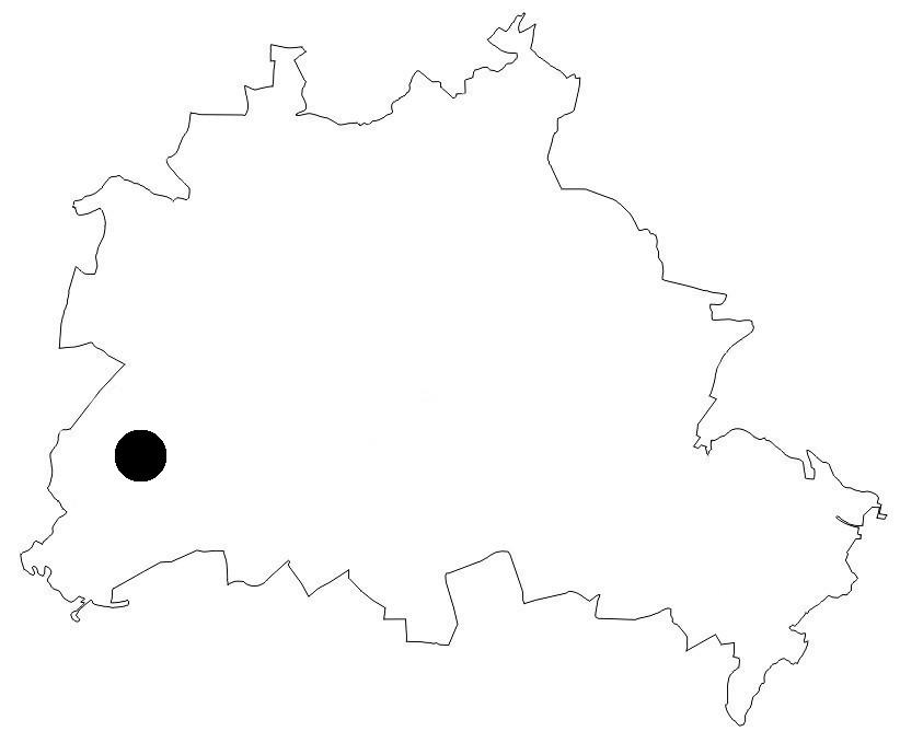 Berlinkarte Lieper Bucht