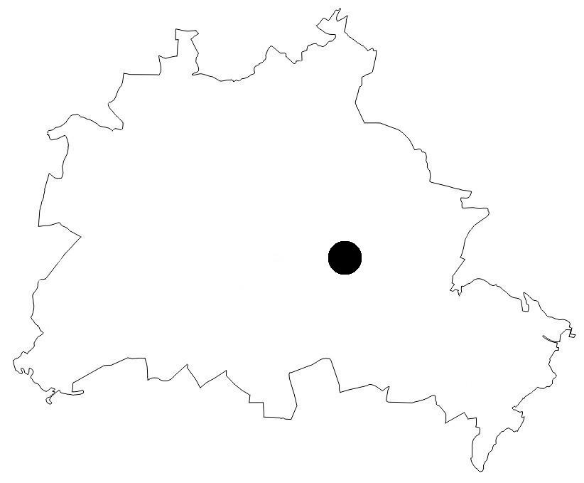 Berlinkarte Rummelsburger Bucht
