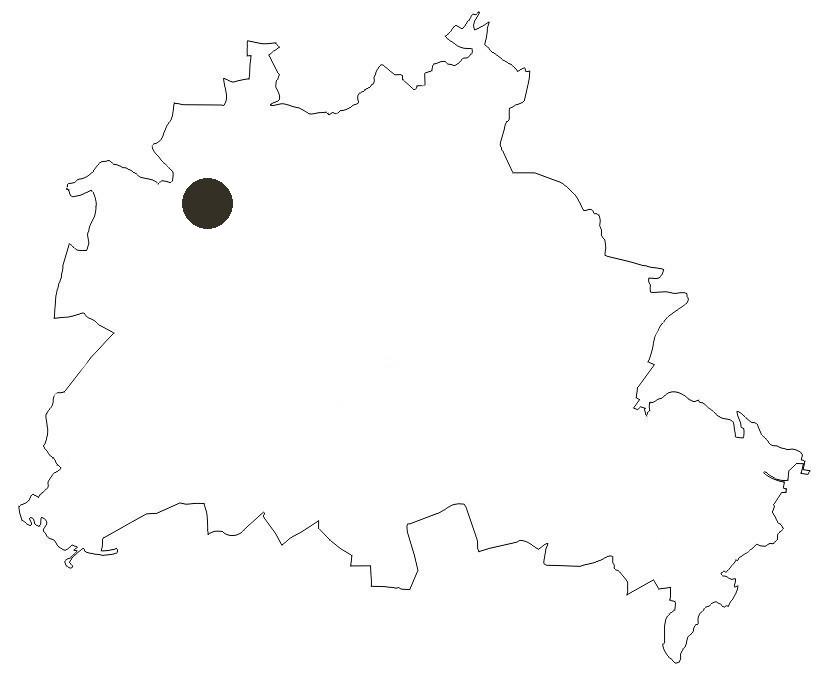 Berlinkarte Insel Reiswerder