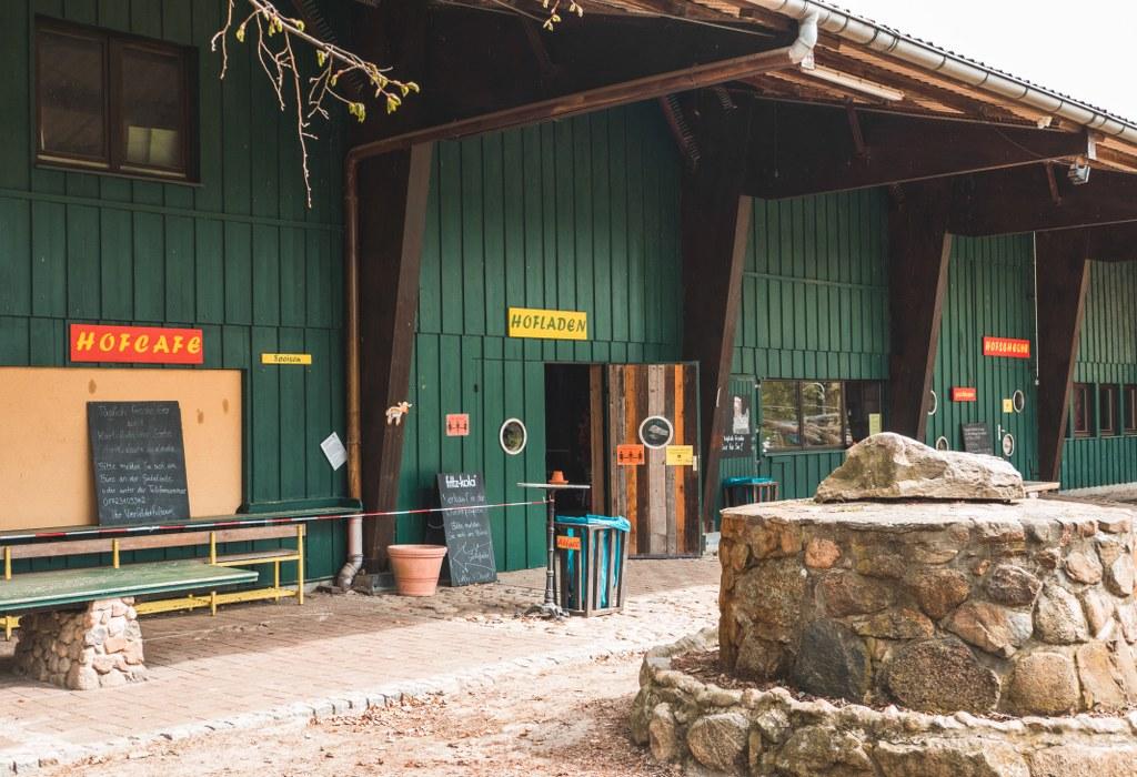 Hofladen und Hofcafe auf de Vierfelderhof