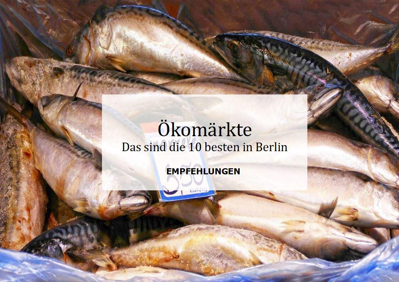 Ökomärkte Berlin Banner