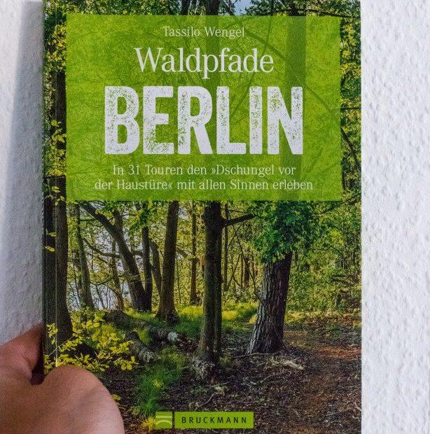 Waldpfade Berlin Buchcover stadtpampa
