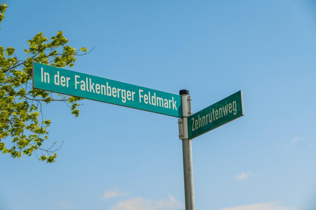 Wegweiser Falkenberger Rieselfelder